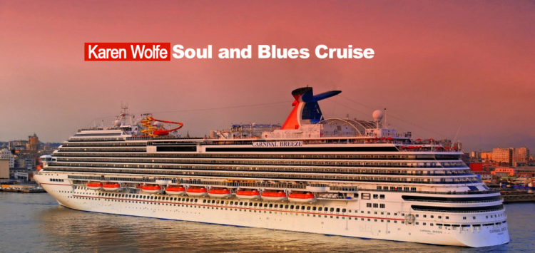 Karen Wolfe Soul and Blues Cruise